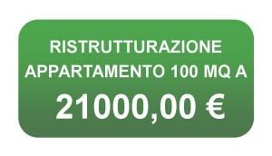 Prezzo ristrutturazione casa 100 mq