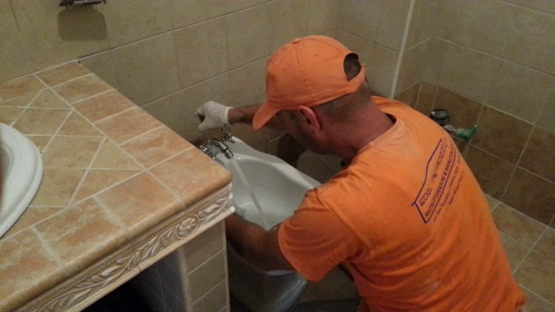 Ristrutturazione bagno zona portuense roma edil petrozzi - Iva agevolata ristrutturazione bagno ...