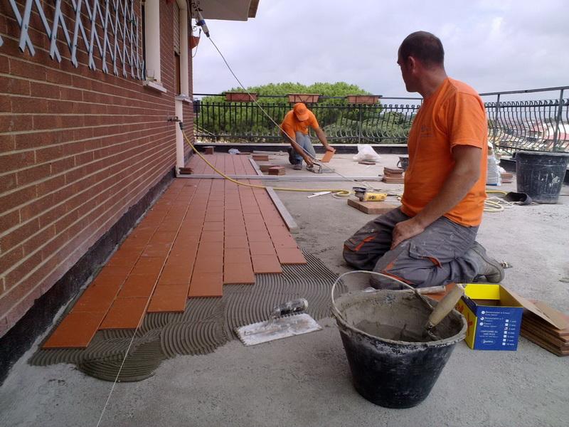 Ristrutturazione terrazzi zona portuense roma edil petrozzi - Iva agevolata ristrutturazione bagno ...
