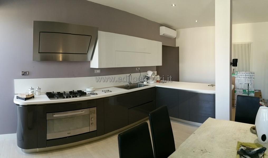 Ristrutturazione appartamento roma zona san giovanni - Rifacimento bagno cil o cila ...