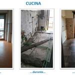 07 - Ristrutturazione appartamento Roma zona Alessandrino - Cucina
