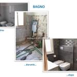 14 - Ristrutturazione appartamento Roma zona Alessandrino - Bagno